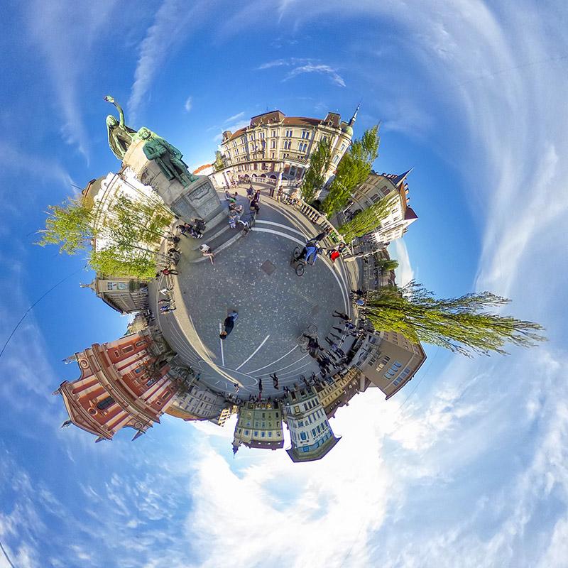 360 video sprehod po ljubljani 2019
