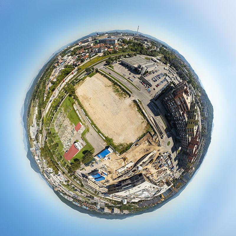Naselje Kvartet – 360 panorama iz zraka